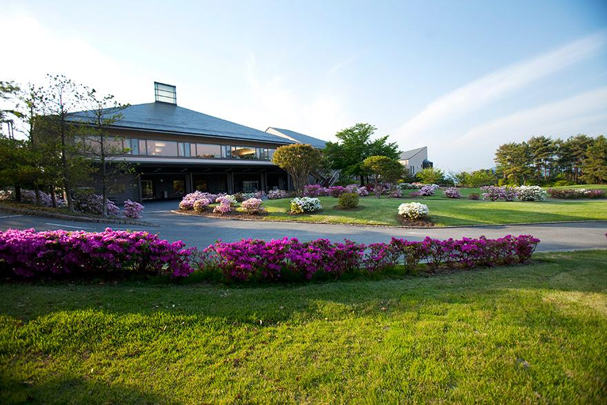 読売ゴルフ・カントリークラブ-クラブハウス
